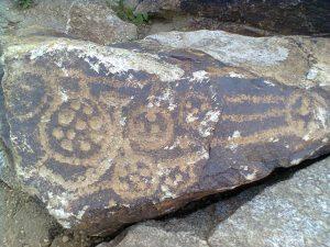 Petroglyph near Khorog